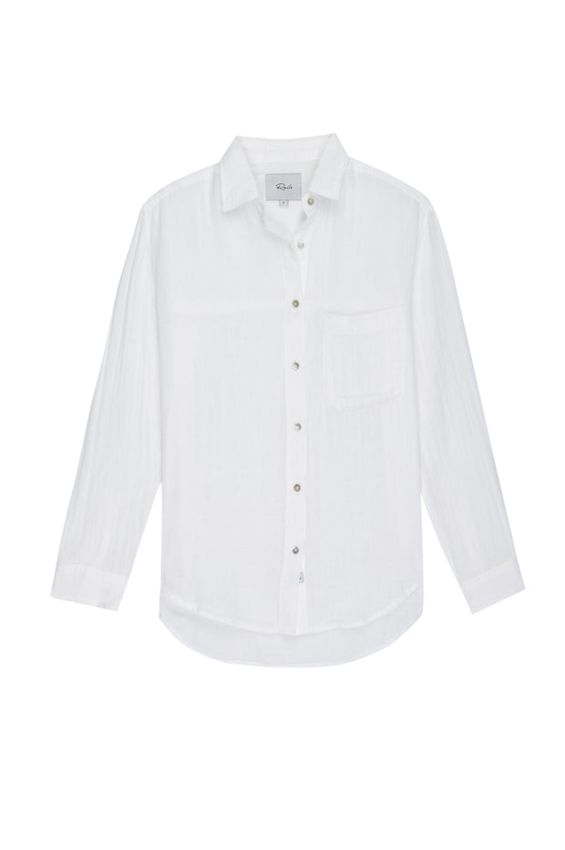 RAILS - Ellis, White Shirt - Makers On Mount