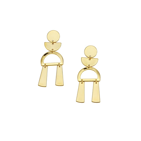 JOLIE & DEEN - Selma Earrings, Gold