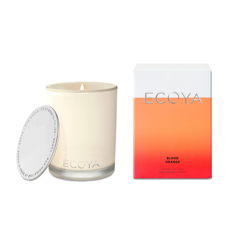ECOYA - Blood Orange, Candle - Makers On Mount