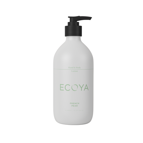 ECOYA - French Pear, Hand & Body Lotion