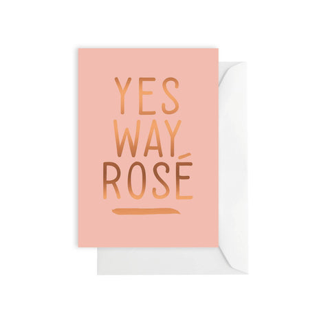 ELM PAPER - Yes Way Rosé, Card