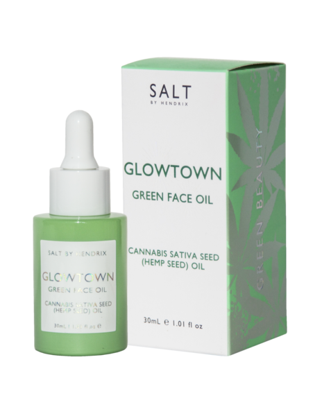 SALT BY HENDRIX - Glowtown, Green Face Oil - Makers On Mount