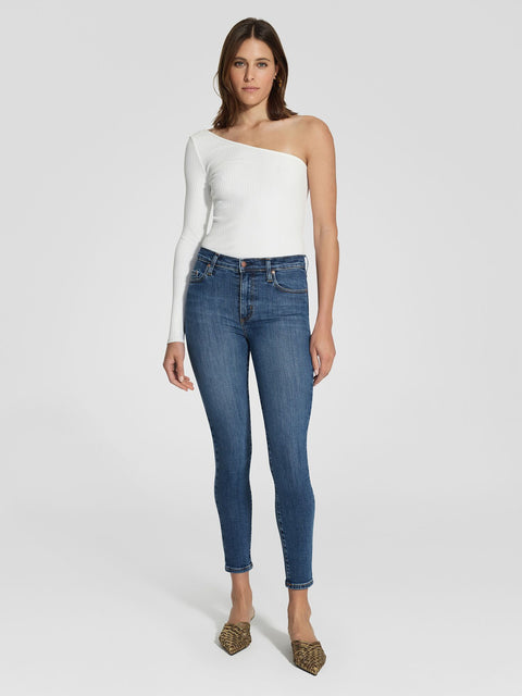 NOBODY DENIM - Cult High Rise Skinny, Prime - Makers On Mount