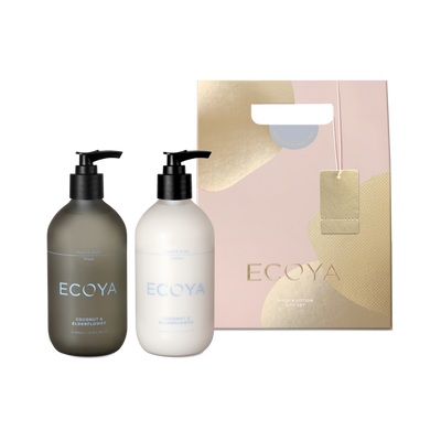 ECOYA - Coconut & Elderflower, Wash & Lotion Set