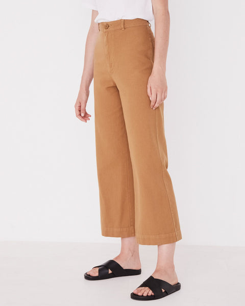 ASSEMBLY LABEL - Tala Canvas Pant, Sepia - Makers On Mount
