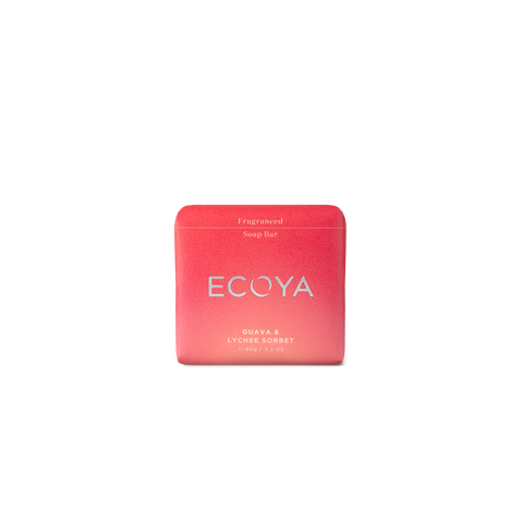 ECOYA - Guava & Lychee Sorbet, Fragranced Soap - Makers On Mount