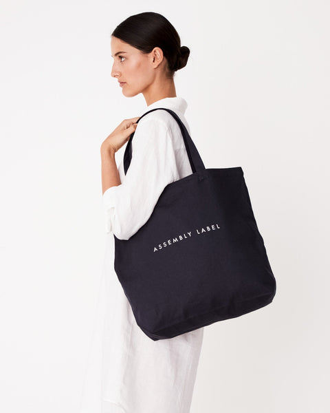 ASSEMBLY - Linen Tote - Makers On Mount
