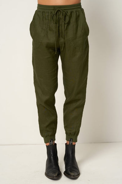RUE STIIC - Houston Trackpant, Mustang Green