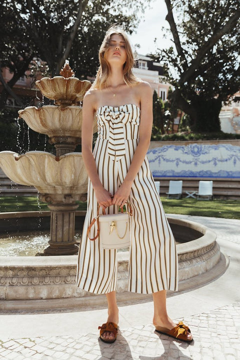 SANCIA - The Praia Jumpsuit, Cilou Stripe - Makers On Mount