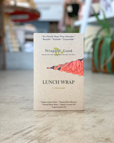 WRAPPIN' GOOD - Beeswax Wraps, Lunch Wrap - Makers On Mount