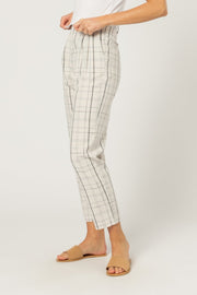 NUDE LUCY - Wren Check Pant