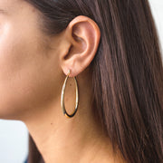 JOLIE & DEEN - Lauren Hoop Earrings, Gold