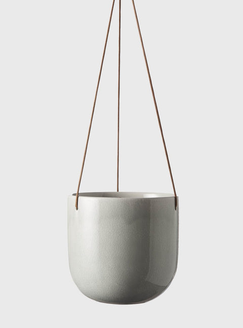 EVERGREEN COLLECTIVE - Mio Hanging Pot Medium, Cloud