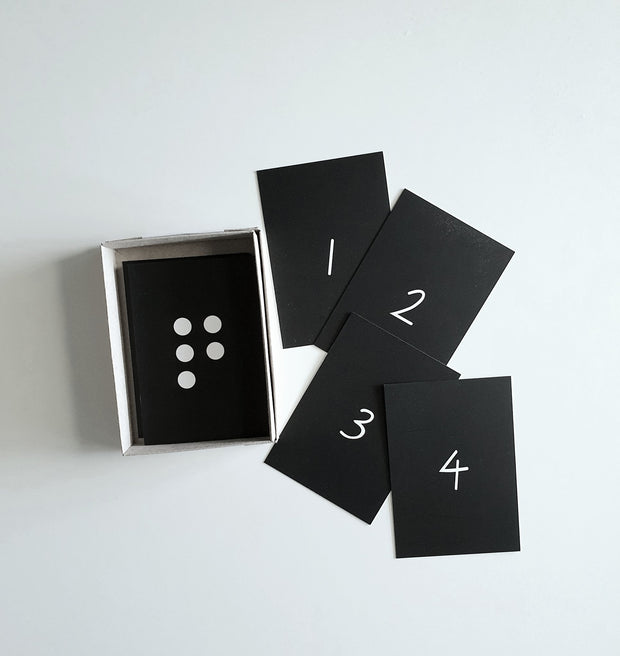 SPARE TIME CO - Alphabet & Number Flash Cards, The Oliver Collection - Makers On Mount