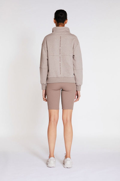 ELKA COLLECTIVE - Mindful Sweater, Cocoa Marle