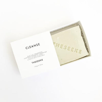 THESEEKE - Blue Clay, Cedarwood, Lavender & Spearmint Cleanse Bar - Makers On Mount
