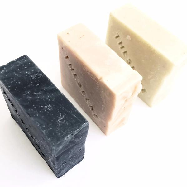 THESEEKE - French Pink Clay & Rose Geranium Cleanse Bar - Makers On Mount