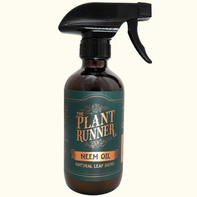 THE PLANT RUNNER - Neem Oil Leaf Shine & Pest Repellant