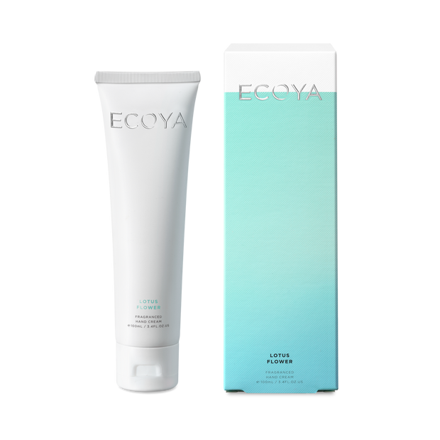 ECOYA - Lotus Flower, Hand Cream