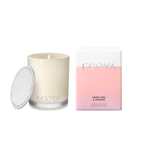 ECOYA - Sweet Pea & Jasmine, Mini Madison Candle - Makers On Mount