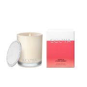 ECOYA - Guava & Lychee Sorbet, Mini Madison Candle - Makers On Mount