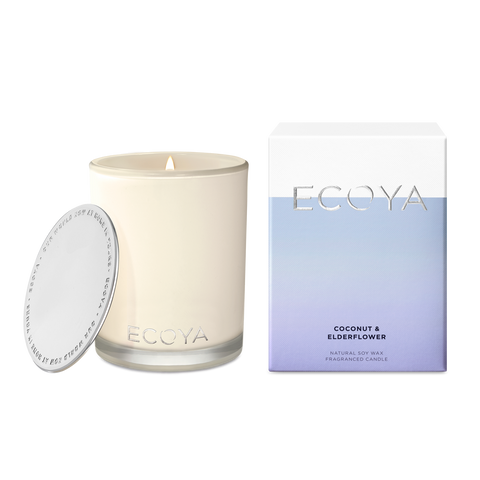 ECOYA - Coconut & Elderflower, Madison Candle - Makers On Mount