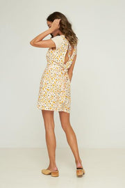 RUE STIIC - Oskar Mini Dress, Floral Confetti - Makers On Mount
