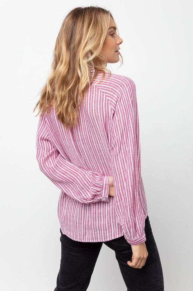 RAILS - Natalie, Lucia Stripe Shirt - Makers On Mount