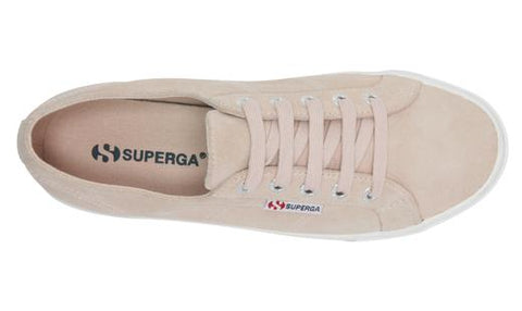 SUPERGA - 2730 Suede, Pale Pink - Makers On Mount