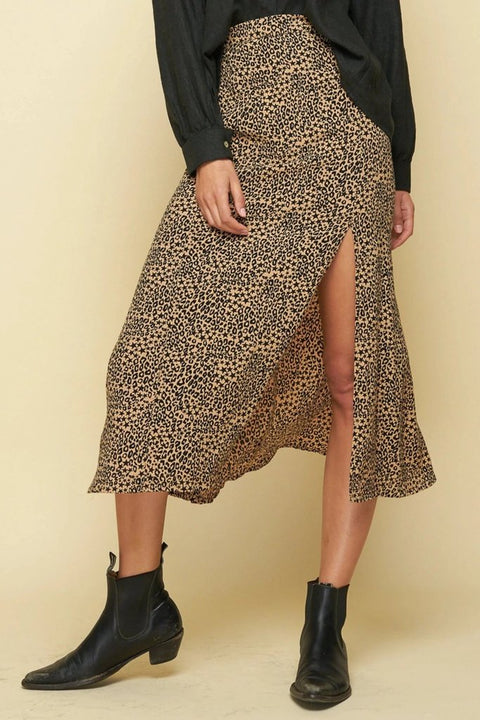 RUE STIIC -  Nina Midi Skirt, Troubador - Makers On Mount