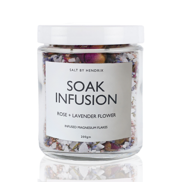 SALT BY HENDRIX - Rose & Heather Flower, Soak Infusion