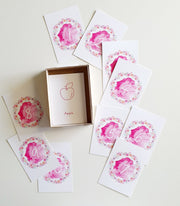 SPARE TIME CO - Alphabet & Number Flash Cards, The Sadie Collection