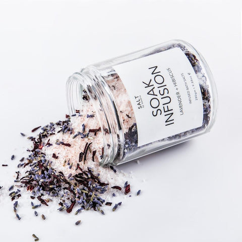 SALT BY HENDRIX - Lavender + Hibiscus, Soak Infusion - Makers On Mount