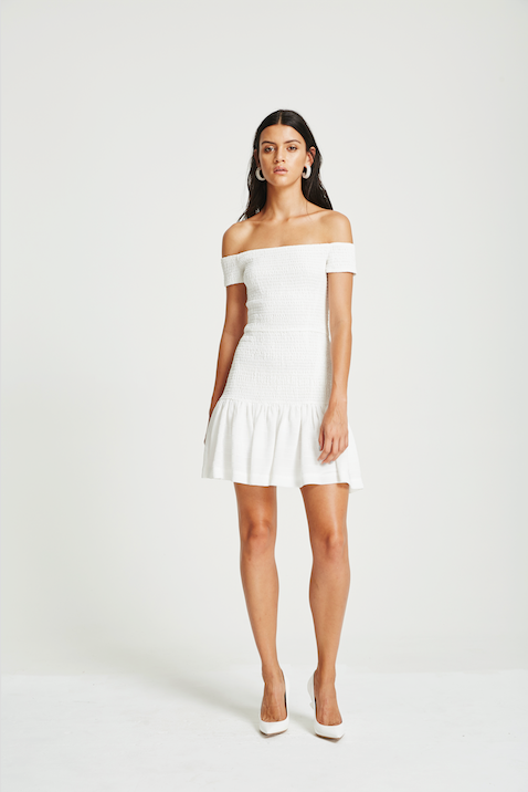 VÉSTIRE - Cara Dress, White - Makers On Mount