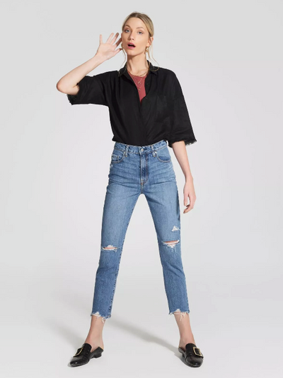 NOBODY DENIM - Frankie Slim Jean Ankle, Jetsetter - Makers On Mount