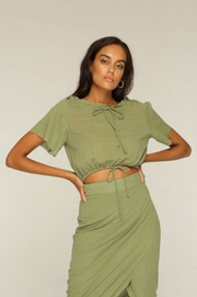 RUE STIIC - Crosby Top, Khaki