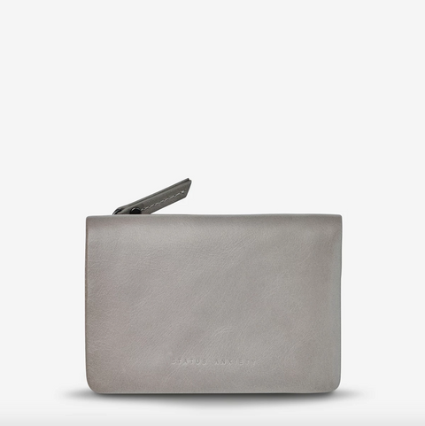 STATUS ANXIETY - Is Now Better, Wallet, Light Grey