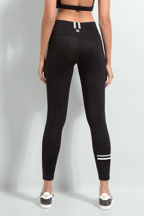 FIRST BASE - The Zone Full Length Compression Legging, Black