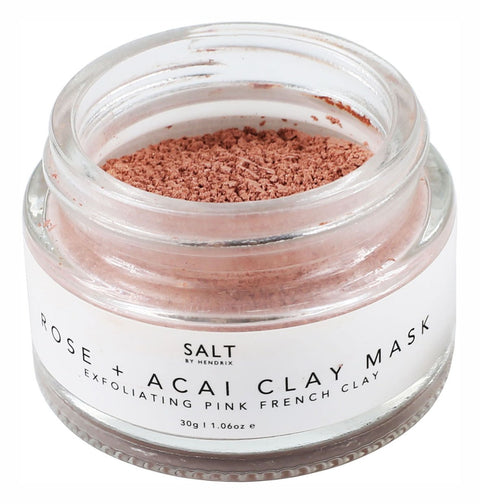 SALT BY HENDRIX - Rose + Acai Face Mask - Makers On Mount