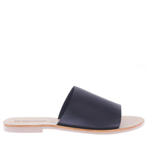 SOL SANA - Teresa Slide, Black / Blonde