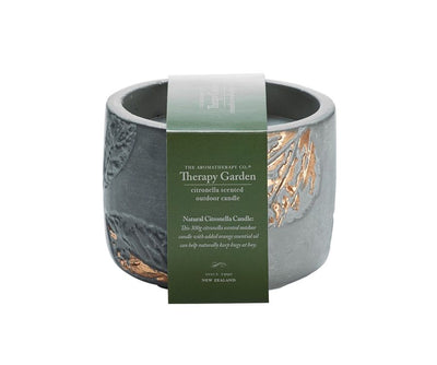 THE AROMATHERAPY CO - Therapy Garden, Citronella Candle - Makers On Mount