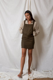 ARTHUR - Pinafore Mini, Olive