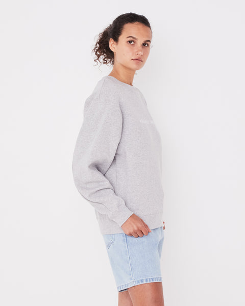 ASSEMBLY LABEL - Logo Fleece, Grey Marle