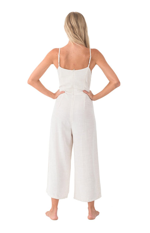 THE BARE ROAD - Biarritz Jumpsuit, Natural