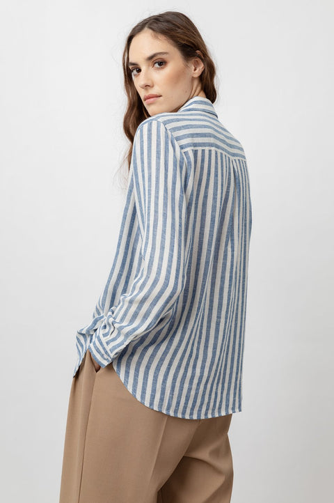 RAILS - Charli Button Down, Echo Stripe