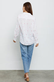 RAILS - Charli Shirt, Fuschia Flamingos