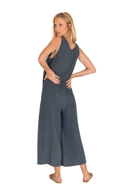 THE BARE ROAD - Charley Jumpsuit, Charcoal - Makers On Mount