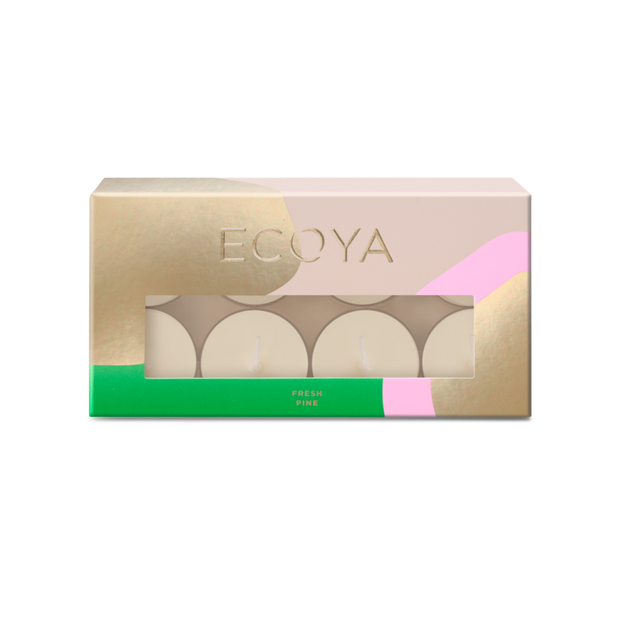 ECOYA - Fresh Pine, Tea-light Set