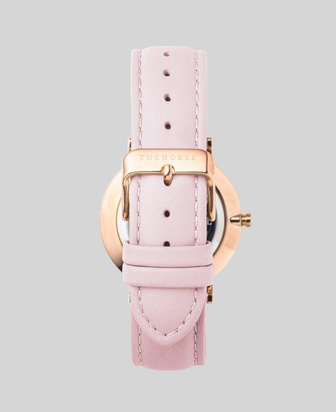 THE HORSE - The Classic Watch, Pink/Rose Gold