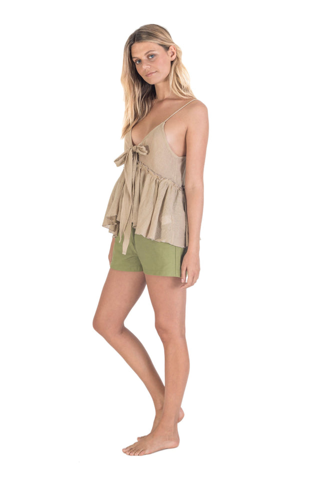 THE BARE ROAD - Cruise Top, Natural Beige